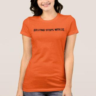 Trakassera stopp med oss t-shirts