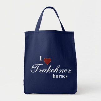 Trakehner hästar tygkasse