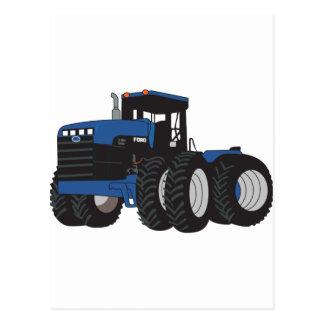 traktor 4WD Vykort