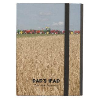 Traktorer och tableten för vetefältanpassade iPad air skal