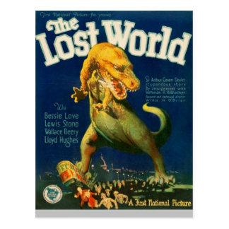 Trampling av tyrannosaurusen vykort