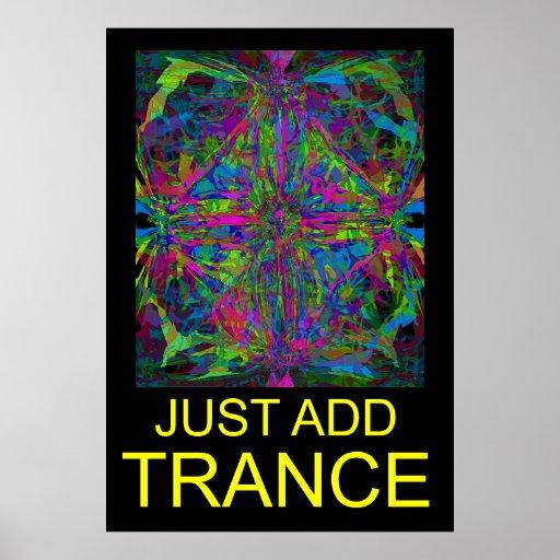 Trancemusik Affischer