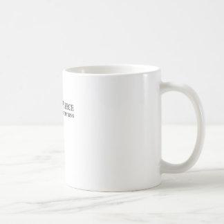 Tränga igenom & tränga igenom kaffemugg