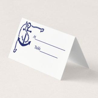 Tränga någon ankrar med repeskortkortet placeringskort