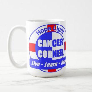 Tränga någon ljus cancer för hopp muggen kaffemugg