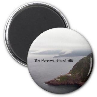 Trångt pass, signalerar backemagneten magnet rund 5.7 cm