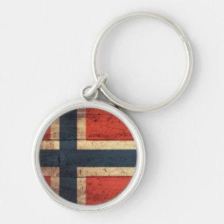 Tränorgeflagga Nyckel Ring
