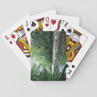Tranquility som leker kort casinokort