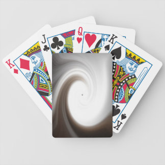 Tranquilityabstrakt som leker kort spelkort