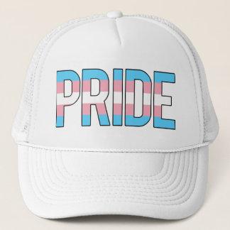 Trans.-pride lastbilsförare keps