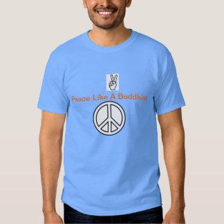 transcendentalismfredskjorta tee shirt