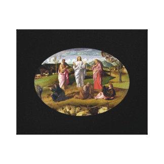 Transfigurationen av Kristus Bellini Canvastryck