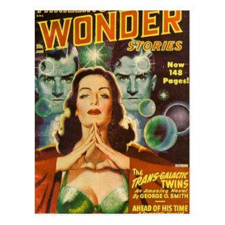 Transgalactic twillingar vykort