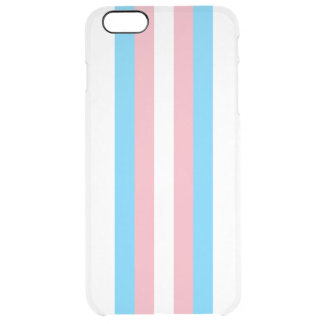 Transgenderflagga Clear iPhone 6 Plus Skal