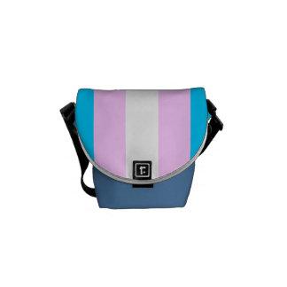 Transgenderflagga Messenger Bag