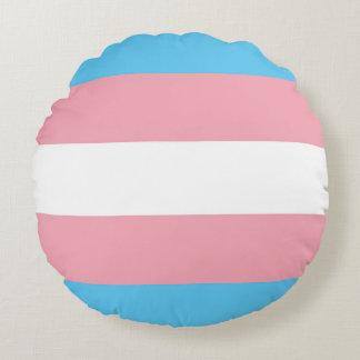 Transgenderpride kudder rund kudde