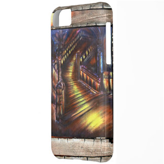 Trappa av ljust iPhone 5C fodral
