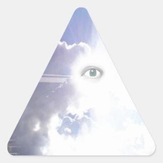 Trappa till? .jpg triangelformat klistermärke