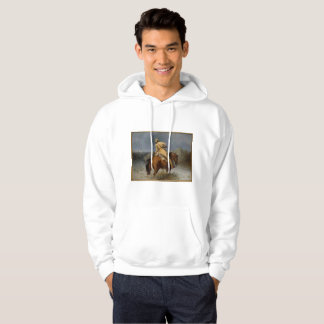 Trapper på manar grundläggande Hooded tröja