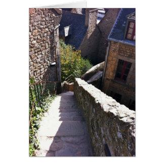 Trappor för Mont St. Michel OBS Kort