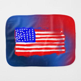 Trasa för rapning för design för amerikanska flagg
