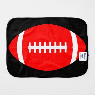 Trasa för rapning för färg för röd fotboll för