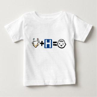 Trasa + Sjukhus = lycklig baby Onsie/ Tee