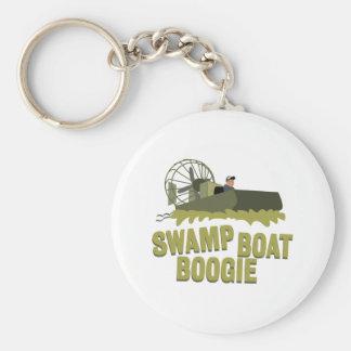 TräskfartygBoogie Rund Nyckelring