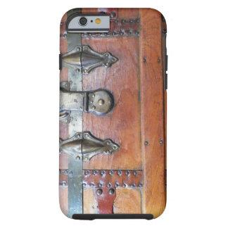Trästambröstkorgen med låser tough iPhone 6 case