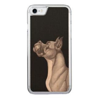 Trät för DANSKiPhone 6 Carved iPhone 7 Skal