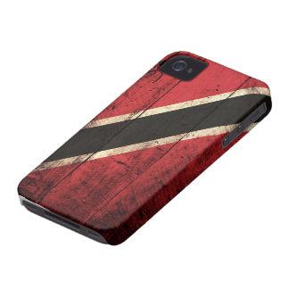TräTrinidad och Tobago flagga iPhone 4 Skydd