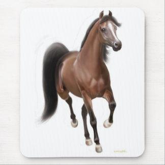 Trava den arabiska hästen Mousepad Musmatta