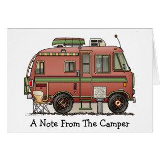 Travco motorisk hem- campare RV Hälsningskort