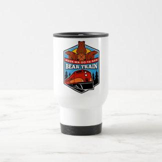 Travel mug 15oz för rostfritt stålbjörntåg resemugg