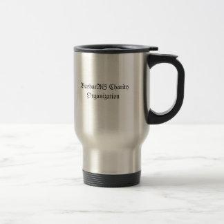 Travel mug för BasharAG välgörenhetorganisation Rostfritt Stål Resemugg