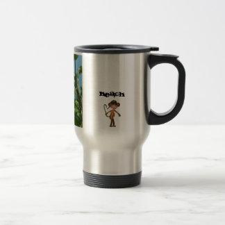 Travel mug för kaffe för apastrandest 2011® kaffe kopp