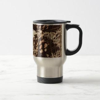 Travel mug för kamouflageCamo rostfritt stål Resemugg