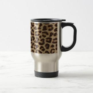 Travel mug för Leopardtryckrostfritt stål Resemugg