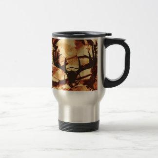 Travel mug för rostfritt stål för kamouflageCamo Resemugg