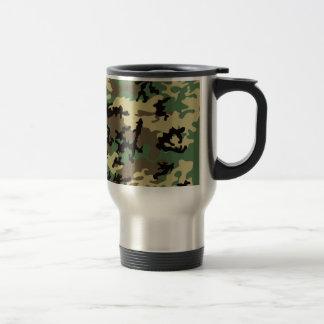 Travel mug för skogsmarkCamo rostfritt stål Resemugg