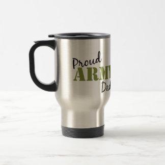 """Travel mug """"för stolt armépappa"""" resemugg"""