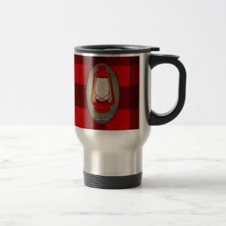 Travel mug för Verse för Psalms119:105bibel Resemugg