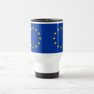Travel mug med flagga av Europeiska union Resemugg
