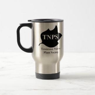 Travel mug med logotypen för TNPS-Poplarlöv Rostfritt Stål Resemugg