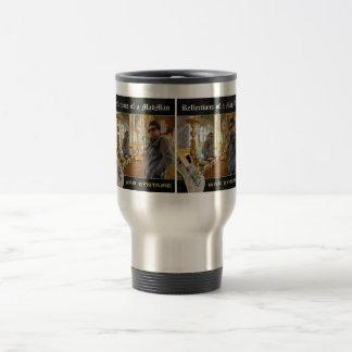 Travel mug - reflexioner av ett MadmanCDkonstverk Resemugg