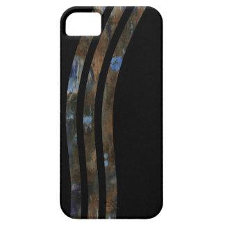 tre buktade texturerade randar barely there iPhone 5 fodral