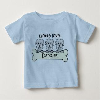 Tre Dandie Dinmont Terriers Tee