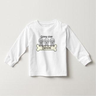 Tre Dandie Dinmont Terriers Tshirts