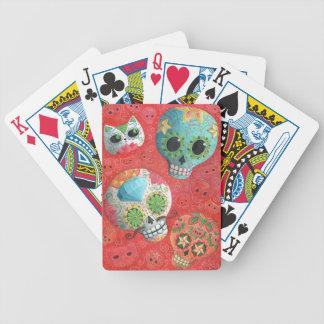Tre - day of the deaddöskallar spelkort
