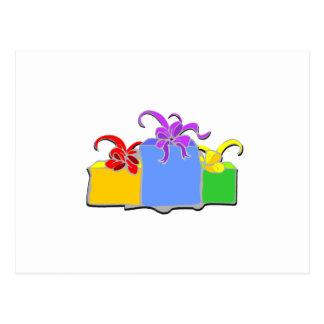 Tre gåvor vykort